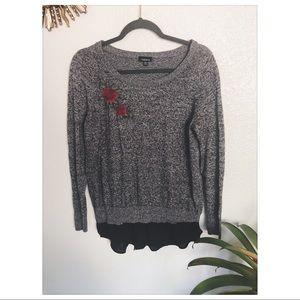Torrid | Embroidered Sweater